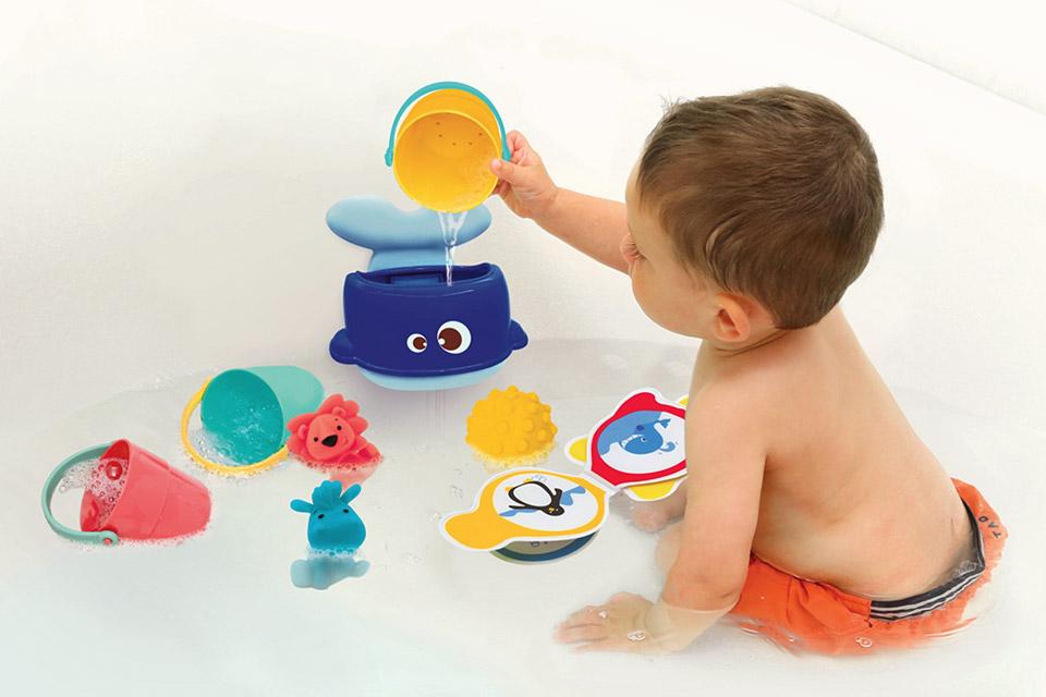 meilleur jouet bain bebe